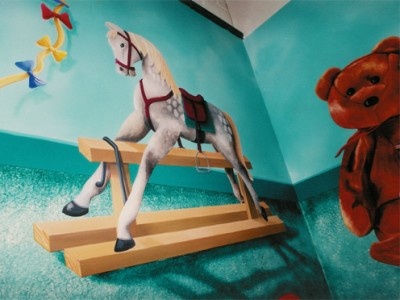 Toy shop mural