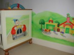 Childrens' furniture painting