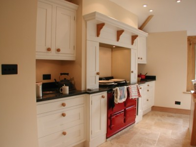 Another example of a hand painted kitchen